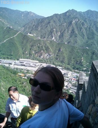 Я на Китайской стене