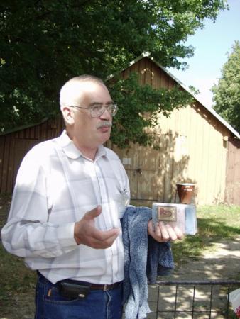 Александр Николаевич, директор школы в Шамордино и потрясающий гид