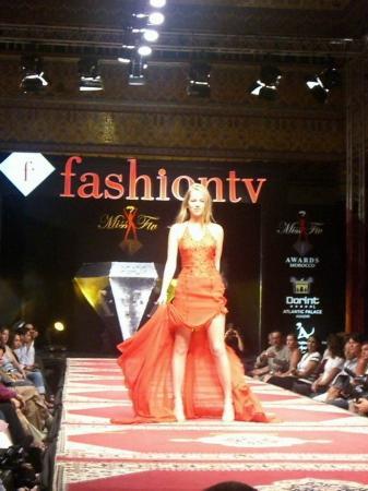 Претендентка на Miss Fashion TV