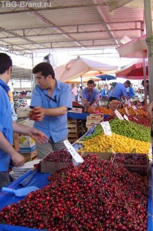 Рынок. Опять турецкий