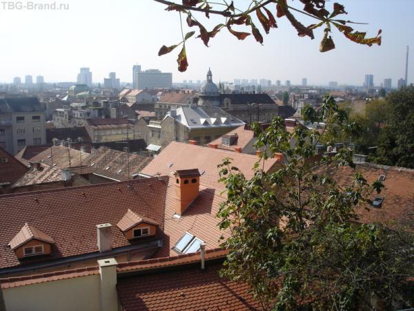 Вид Загреба