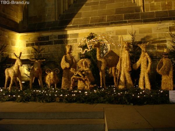 Святое Семейство у Собора Св.Вита