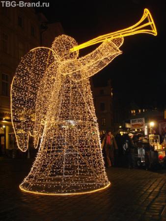 Ангел на Староместской площади