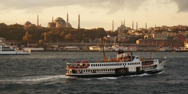 Рассвет над Софией. Стамбул.