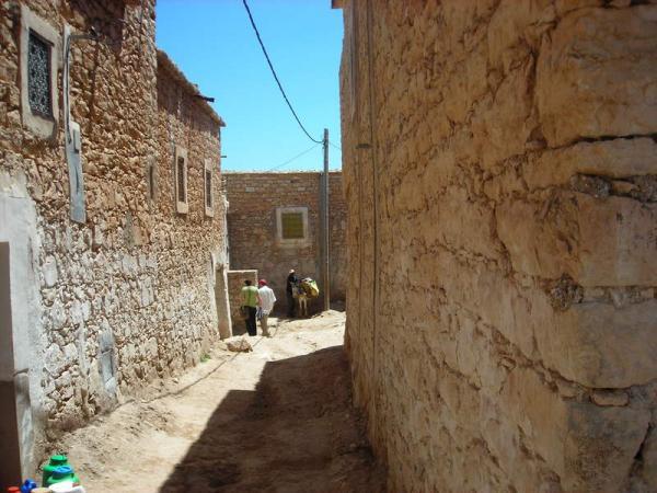 В берберской деревне