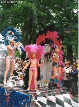 самба фестиваль на Эспланаде