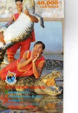 А вас еще не бросали к крокодилам?