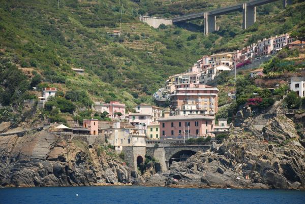 Сумасшедшие виды Лигурийского побережья Италии!!!