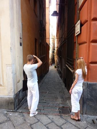 В Генуе несложно потеряться!