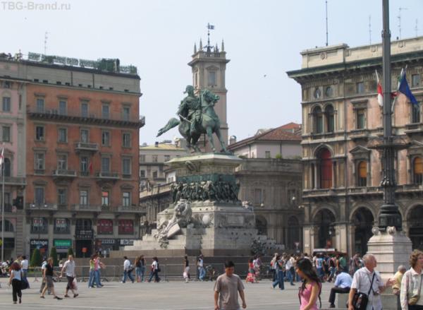 Piazza Duomo, Милан