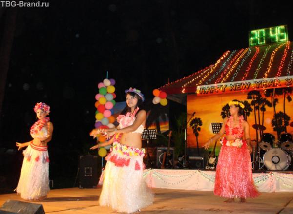И встречали Новый Год… А пока девушки танцевали гадали, кто из них все-таки девушки, а кто нет…