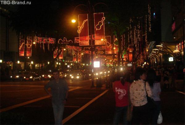 Orchard Road готовится встречать китайский новый год!
