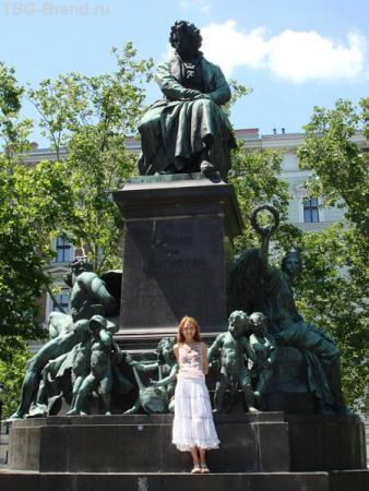 Памятник великому Бетховену