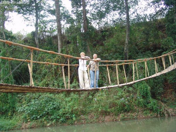 бежала через мосток 3