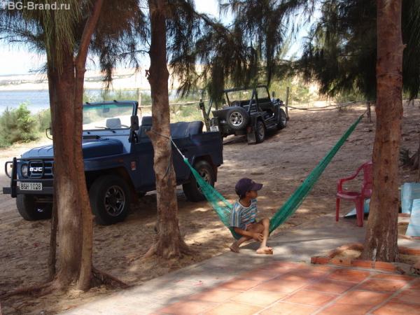 полуденный отдых аборигенов