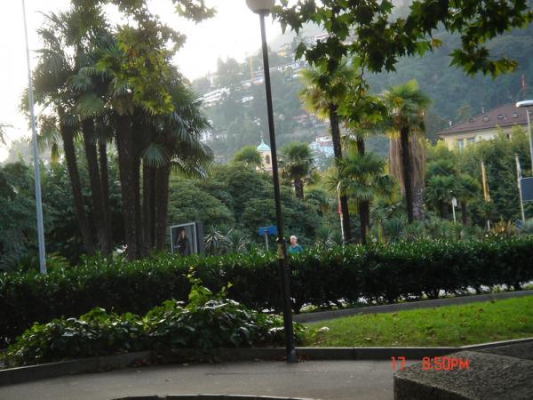 экзотическая растительность в Локарно