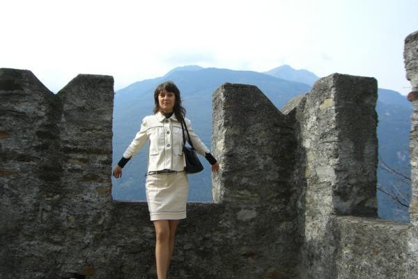 на башне замка