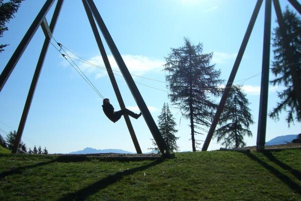альпийские качели - летят, летят, летят...