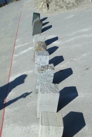 линия столкновения платформ и каменные породы