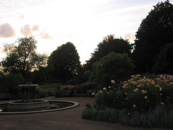 Закат в Гайд Парке