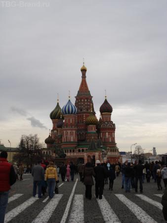 ... и Храм Василия Блаженного - наше Чудо Света!