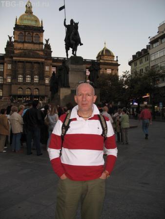 Вечерняя Вацлавская площадь!