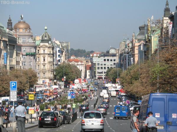 Она самая - Вацлавская Площадь!