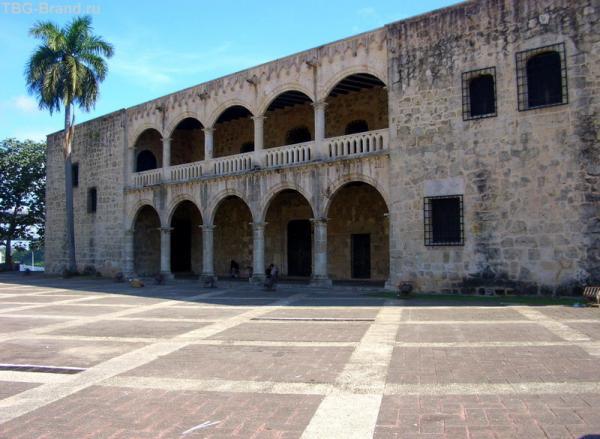 дом сына Х.Колумба в Санто-Доминго