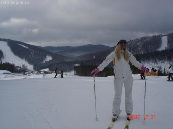 Вот и я на лыжах