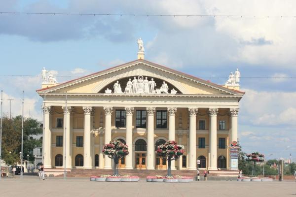 Здание ДК Облсовпрофа