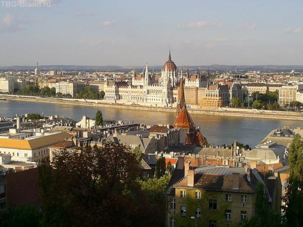 Будапешт. Вид из Будайской крепости