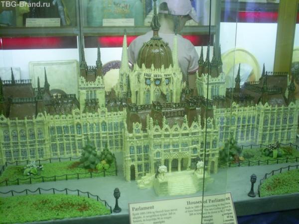 Здание Парламета из марципана