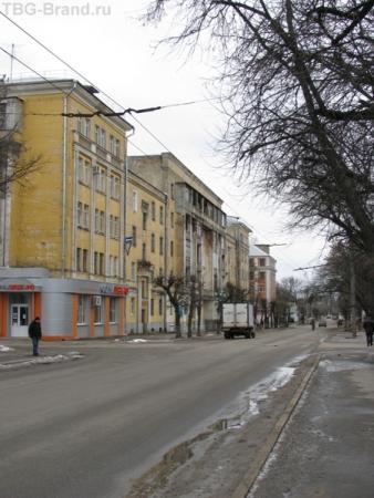 Улочка в Твери
