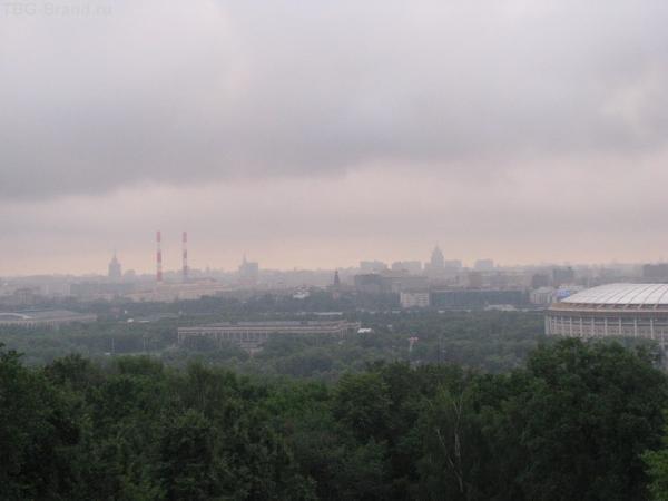 Москва в утреннем тумане