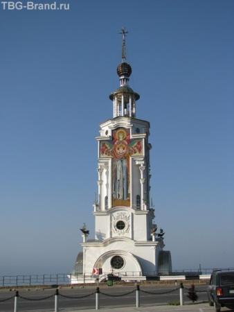 Церковь-маяк у Малореченского
