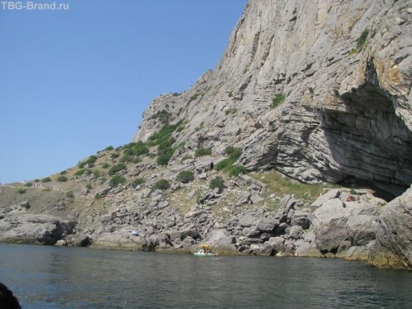 Тропа Голицына с моря