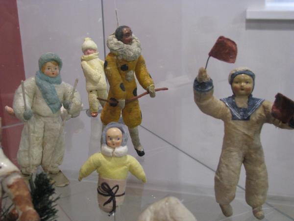Ватные игрушки. 20-60-е года