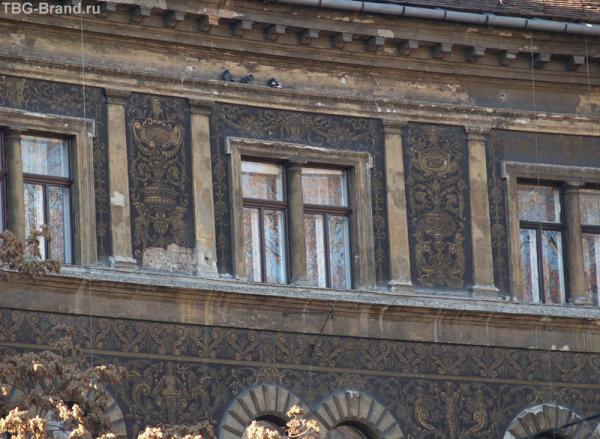 Особенная техника фасадной живописи