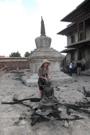 Декорации. Павильон Тибет.