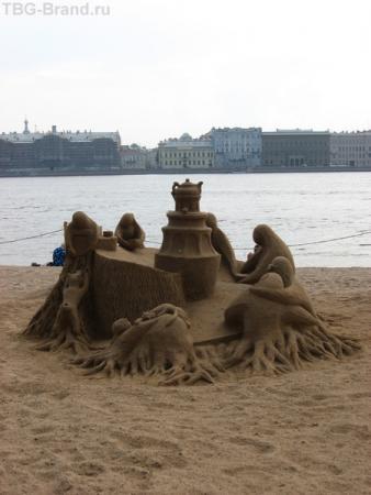 и так тоже бывает - у  стен Петропавловской крепости