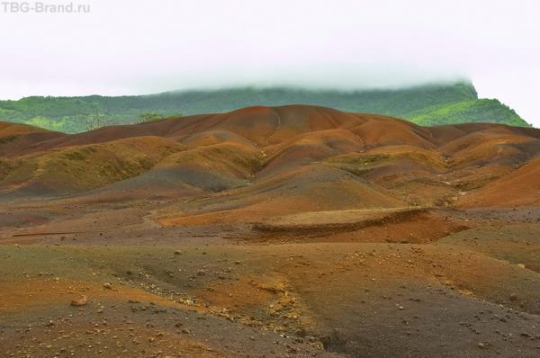 Цветные пески Маврикия