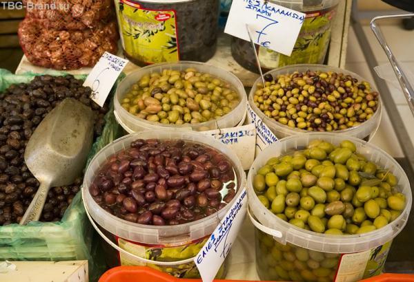 оливки ведрами продают...
