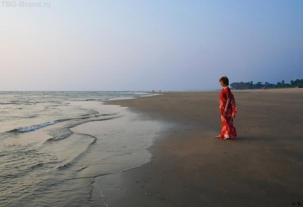 Красное сари - моя слабость :-)