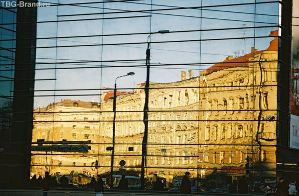 Город в стекле