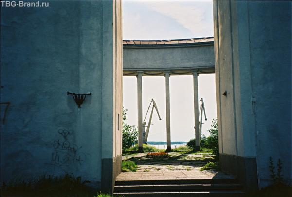 Финское здание, построенное перед войной