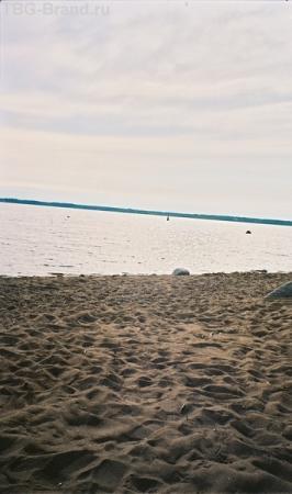 Залив и песок