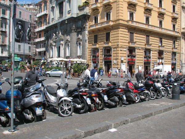 Мотоциклы - повсюду!