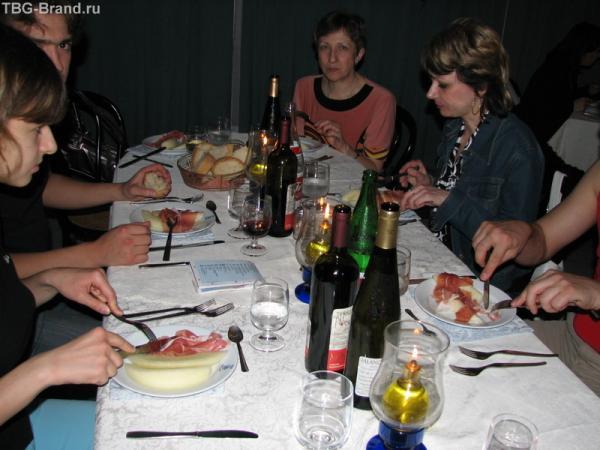 Ужин в Неаполе