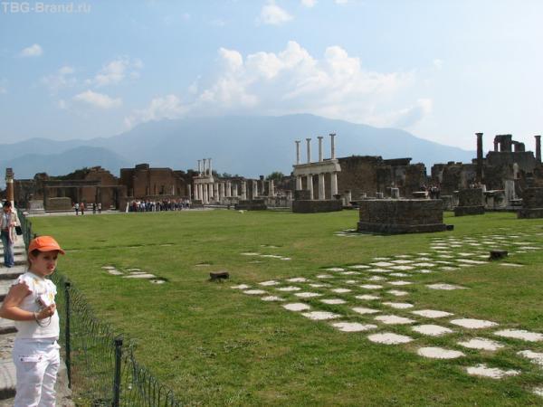 Всё, что осталось от храма Апполона