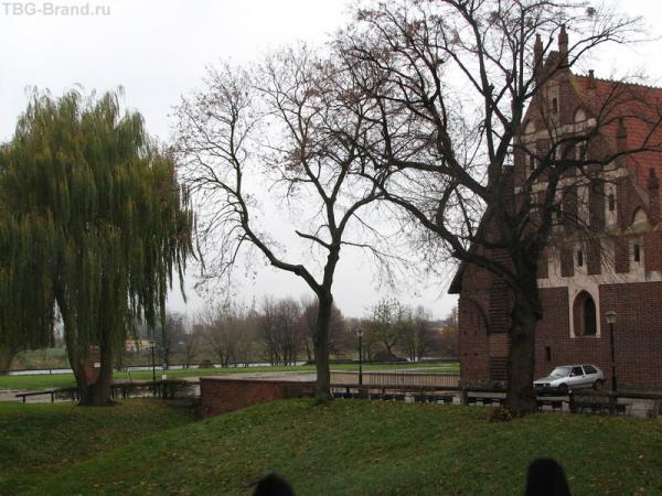 Мальборк - у входа в крепость